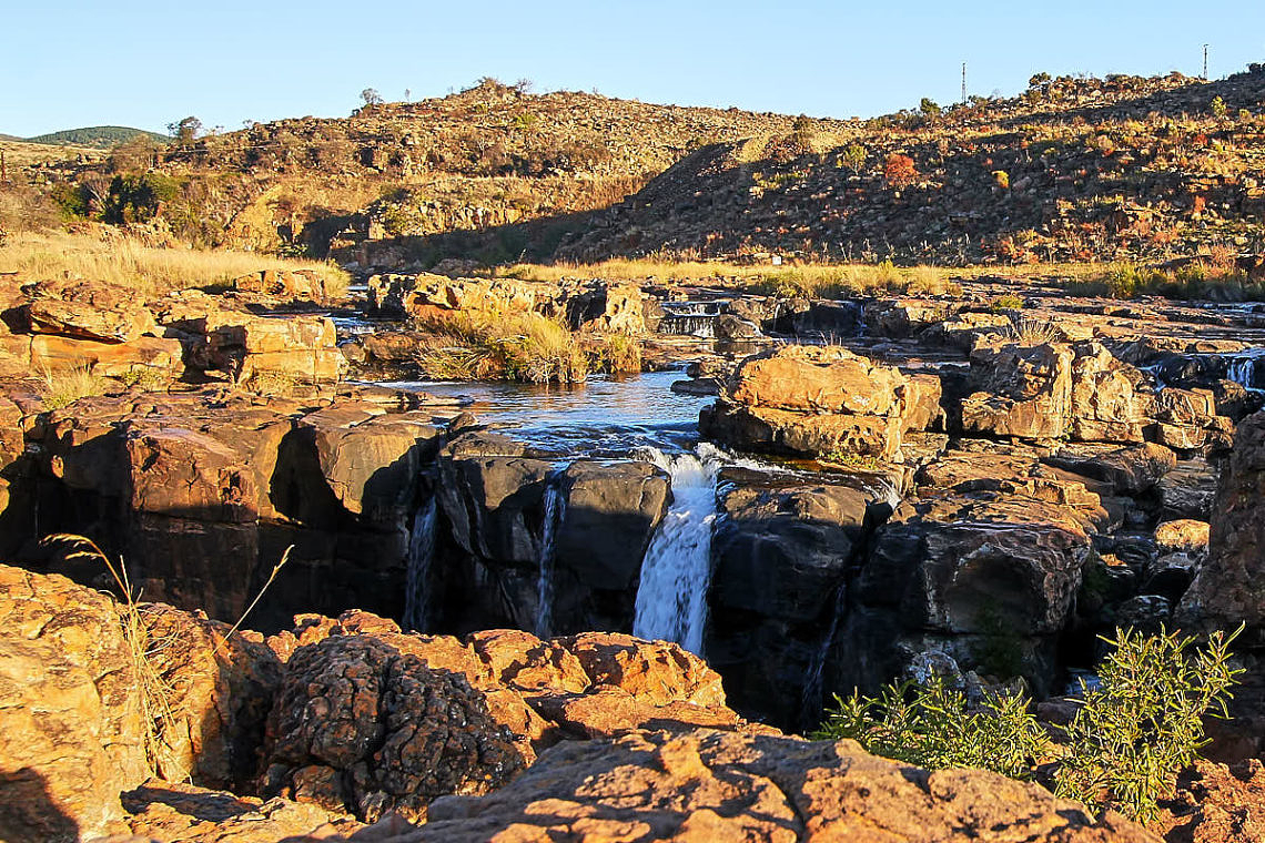 Foto: Bei Bourke's Luck Potholes