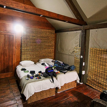 Foto: Zimmer in der Nkambeni Tented Lodge
