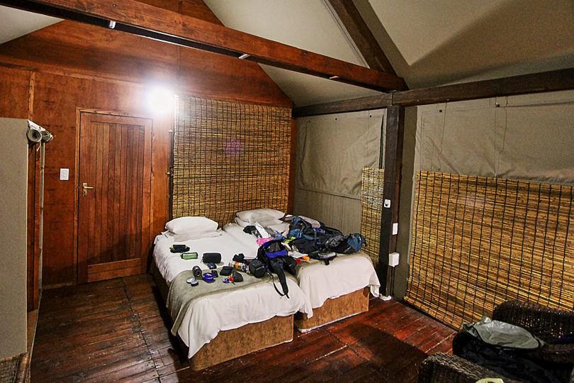 Foto: Zimmer in der Nkambeni Tented Lodge
