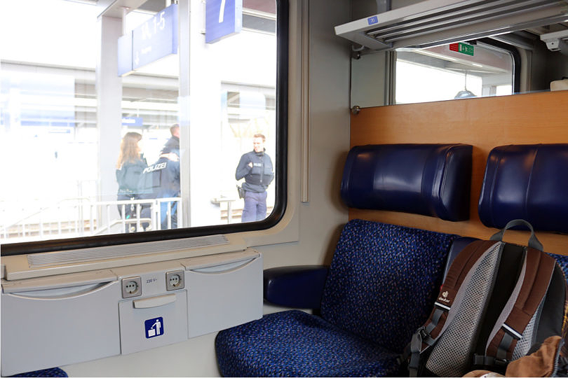 Foto: Abteil im EC nach Verona, 2016