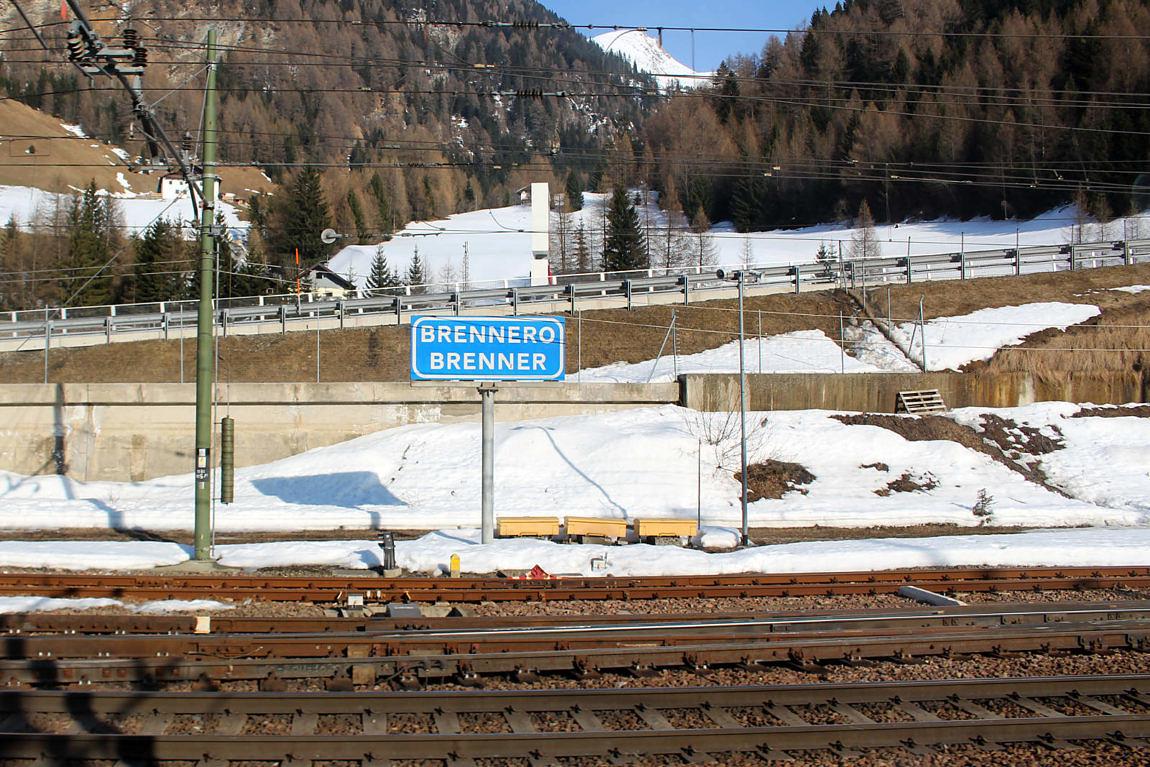 Foto: Halt am Bahnhof Brenner, 2016