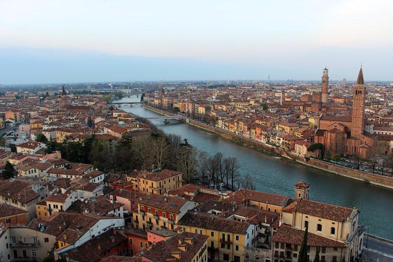 Foto: Blick auf Verona, 2016