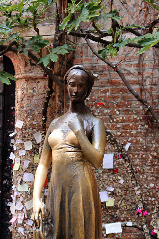 Foto: Statue der Julia, 2016
