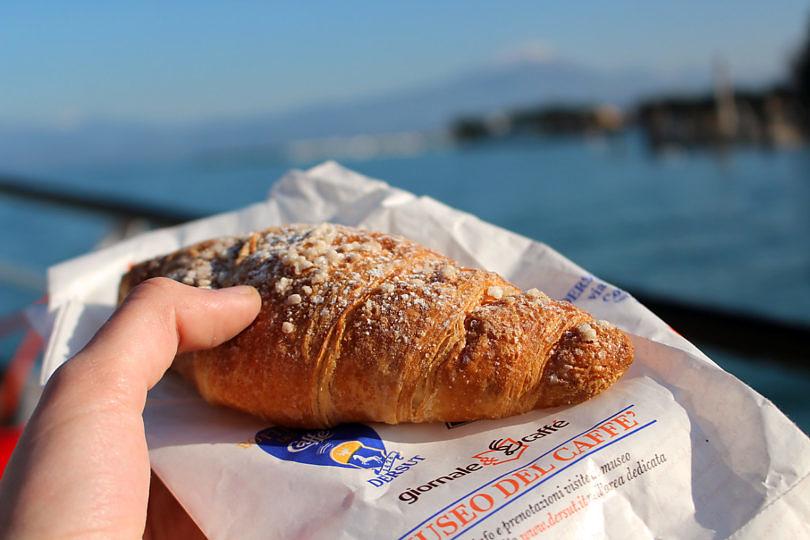 Foto: Croissant am Gardasee, 2016