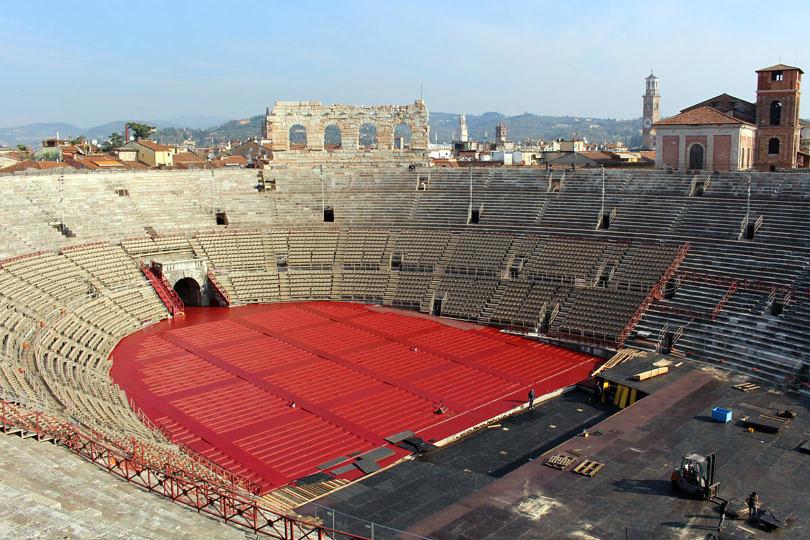Foto von der Arena di Verona